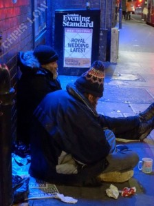 HOMELESS ROYALS.